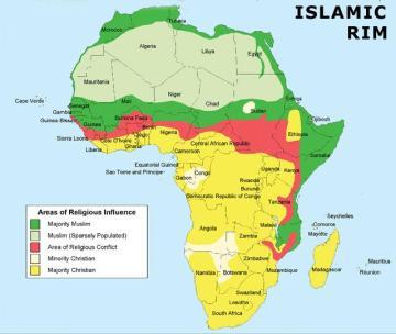 christianIslamAfricaMap